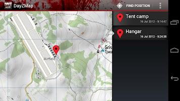 Screenshot of DayZ Map
