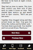 Screenshot of Bedtime Story for Kids