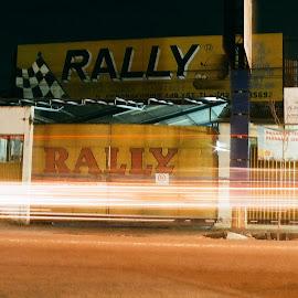 Rally by Galih Yuda Hariyanto - Abstract Light Painting (  )
