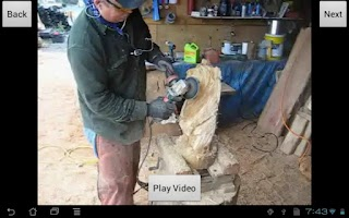 Screenshot of Chainsaw Carving: Finish Work
