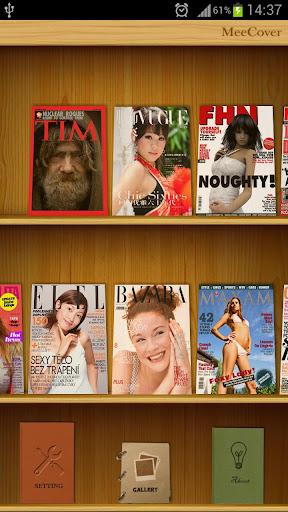 MeeCover:雜誌封面Makr的