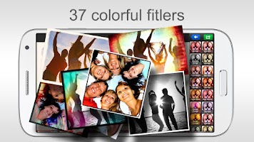 Screenshot of piZap photo editor & collages