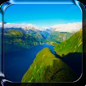 Landschaft Live-Hintergrund