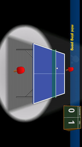 table-tennis-free for android screenshot