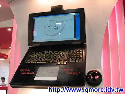 Computex 2008: DarFon達方 (鍵盤滑鼠介紹)