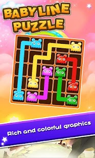Baby Line Puzzle - screenshot