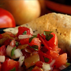 Salsa With Green Chilies