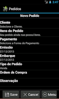 Screenshot of CriareSalesLite-Força de Venda