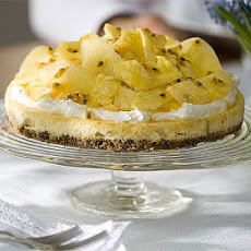 Pineapple & Passion Fruit Cheesecake