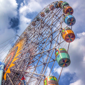 by Akiro Mahilom - City,  Street & Park  Amusement Parks