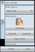 Screenshot of Various Photo Widget