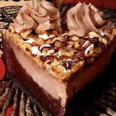 Mississippi Mud Cheesecake