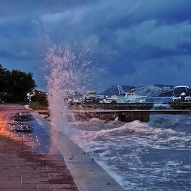 summer storm by Adriana Kastelan - Landscapes Weather