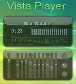 winamp skin vista player