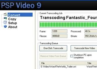 PSP Video 9 Converter