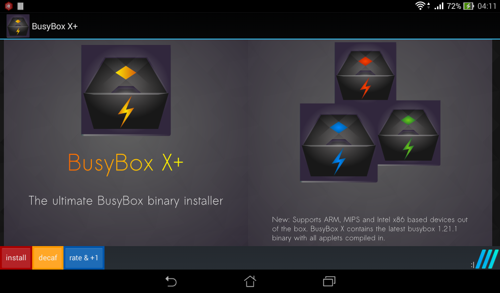 BusyBox X Pro [Root] Screenshot 8