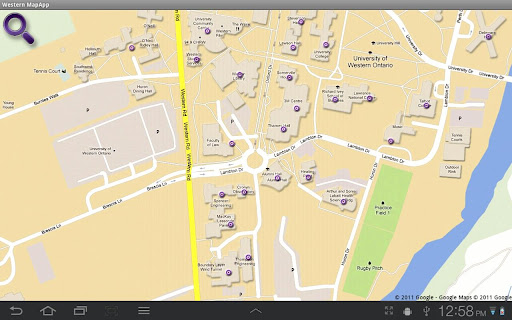 Western Map App