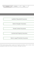 Screenshot of Cheap Home Insurance Platform
