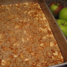 Apple Oat Cheesecake Bars