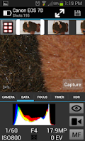 Screenshot of CamRanger Wireless DSLR Remote