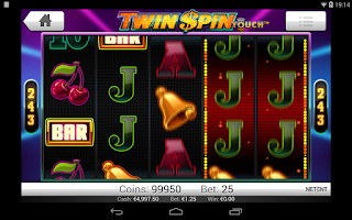 Screenshot of Twin Spin Slots