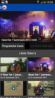 Screenshot of Omrop Fryslân