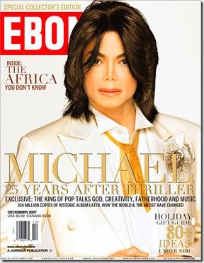 Майкъл Джаксън на корицата на списание Ebony