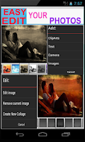 Screenshot of Photo Collage Editor