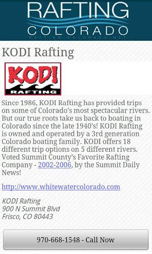 【免費旅遊App】Guide to Rafting in Colorado-APP點子