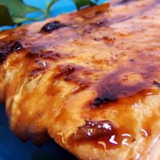 Maple-Chipotle Glazed Salmon