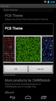 Screenshot of PCB Live Wallpaper