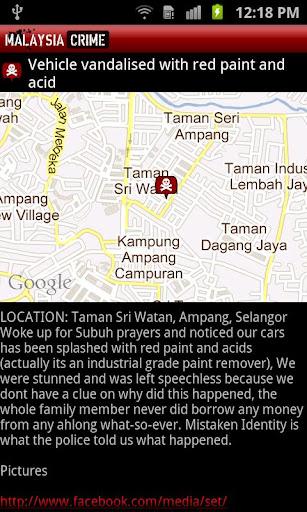 【免費新聞App】Malaysia Crime-APP點子
