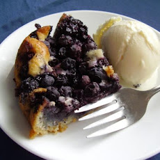 Lazy Day Blueberry Pie