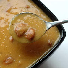 Chorizo and Parsnip Soup
