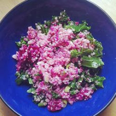 Quinoa, Beet, and Arugula Salad