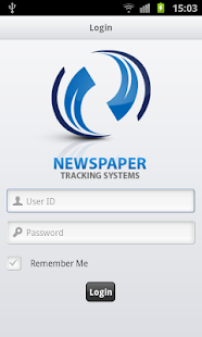 News Paper Tracking System - screenshot