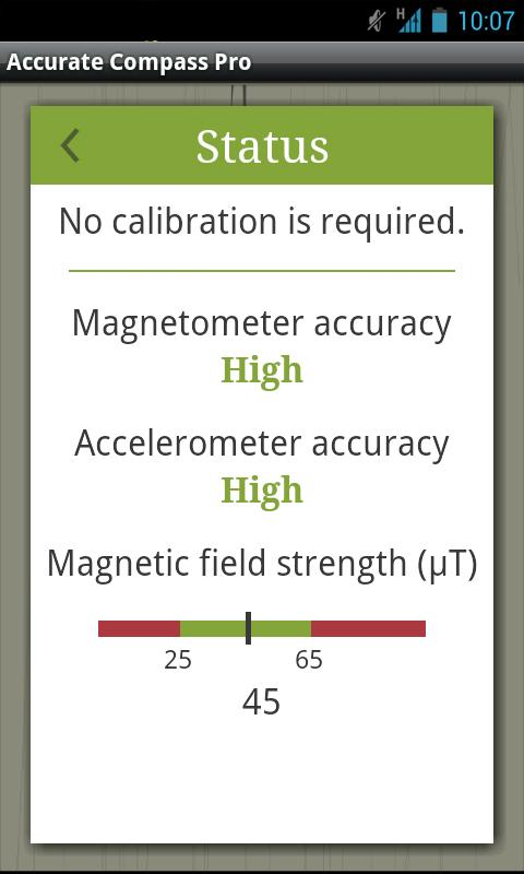 Accurate Compass Pro Screenshot 4