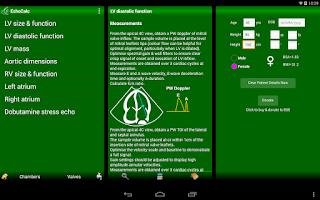 Screenshot of EchoCalc