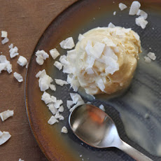 Coconut-Palm Sugar Ice Cream