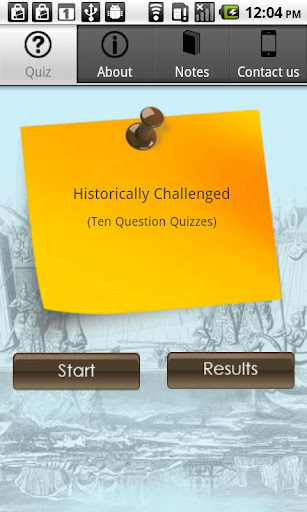 Historically Challenged