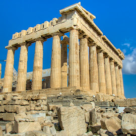 Parthenon temple (II) by Sergios Georgakopoulos - Buildings & Architecture Public & Historical ( parthenon, ancient, greece, athens )
