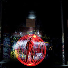 orb cage by Jeremy Graves - Abstract Light Painting (  )