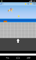 Screenshot of horse riding game