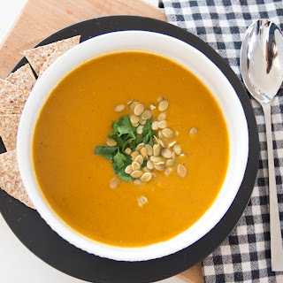 Clean Eats | Creamy Butternut Squash Soup
