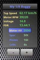 Screenshot of Rc Car Gearing