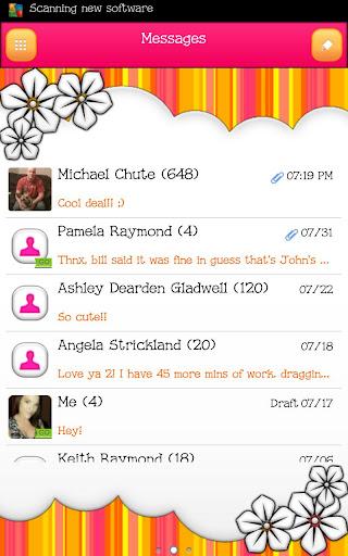 GO SMS - Mango Flower 2