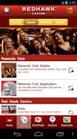 Screenshot of Red Hawk Casino