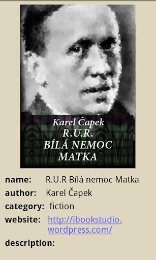 Karel Čapek: RUR verze Pro