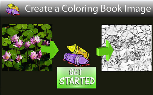 Camera Coloring Book Creator
