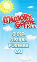 Screenshot of Memory Game Free